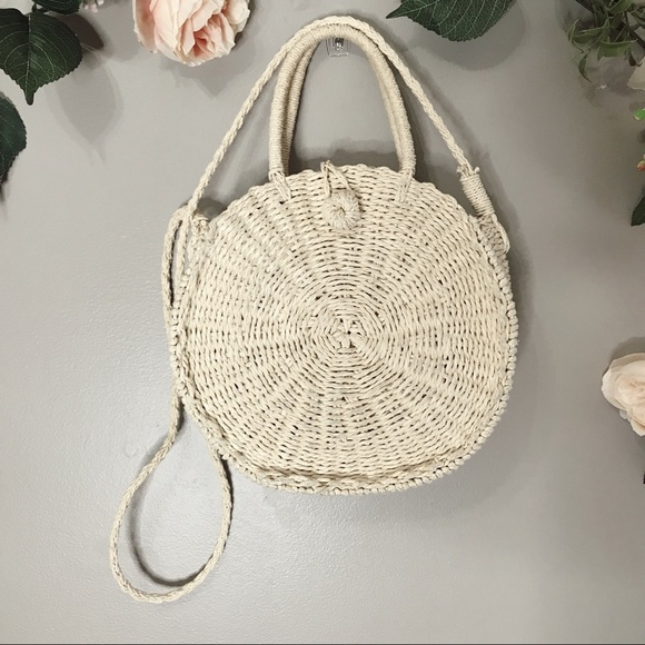 Handbags - Circle basket handbag